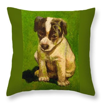 Baby Jack Russel Throw Pillow