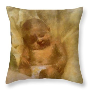 Baby Lexa Throw Pillow