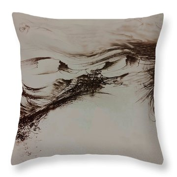 Babylon Throw Pillow by Rachel Christine Nowicki