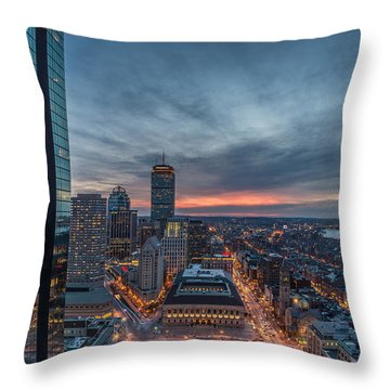 Back Bay Throw Pillow