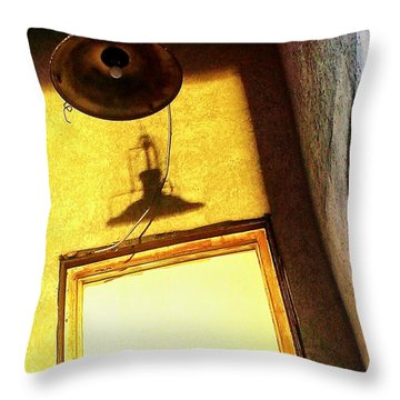 Throw Pillow featuring the photograph Back Of House by James Aiken
