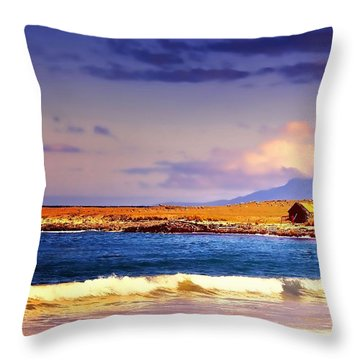 Throw Pillow featuring the photograph Back Paddock by Wallaroo Images