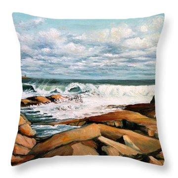 Back Shore Gloucester Throw Pillow