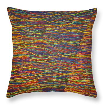 Back To Heaven 1 Throw Pillow by Kyung Hee Hogg