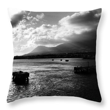 Back To Sea Throw Pillow