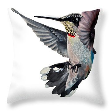 Da101 Backstroke By Daniel Adams Throw Pillow