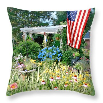 Arbor Throw Pillows