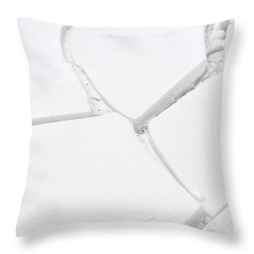 Bad Connection Throw Pillow by Randy Bodkins