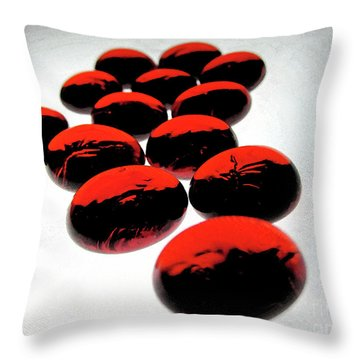 Bad Love Throw Pillow by Molly McPherson