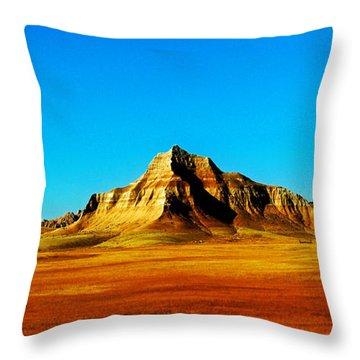 Badland Throw Pillow