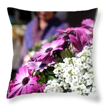 Bahai's Garden - Haifa 2 Throw Pillow