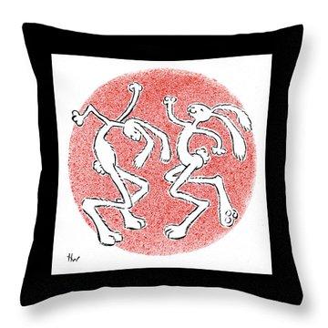 Bailamos Throw Pillow