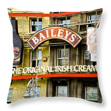 Baileys Irish Cream Throw Pillow