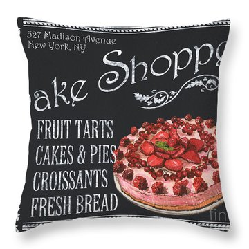 Pies Throw Pillows