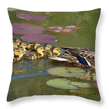 Bakers Dozen Throw Pillow
