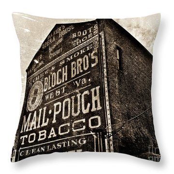 Baker's Opera House Throw Pillow