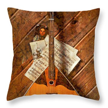 Balalaika Throw Pillow by Garry Gay