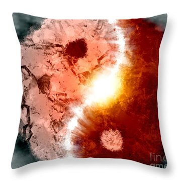 Balance Throw Pillow by Thomas OGrady