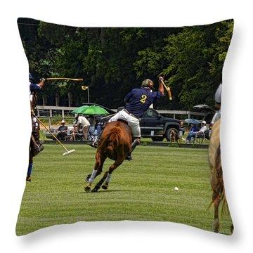 Balanced Attack Throw Pillow