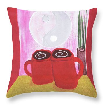 Balanced Throw Pillow