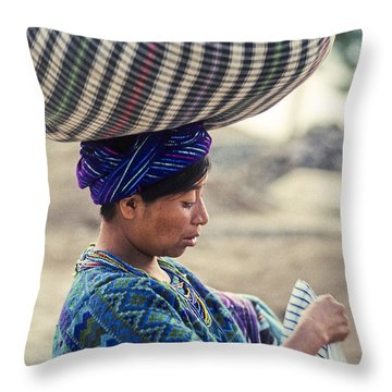 Throw Pillow featuring the photograph Balanced by Tina Manley