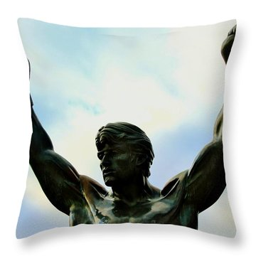 Balboa Throw Pillow by Benjamin Yeager