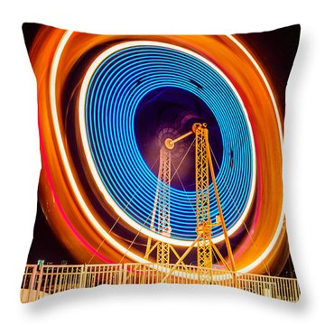 Wheel Throw Pillows