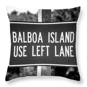 Balboa Island Throw Pillows Fine Art America
