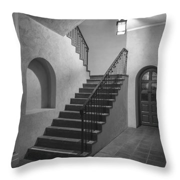 Balboa Park Entry Throw Pillow