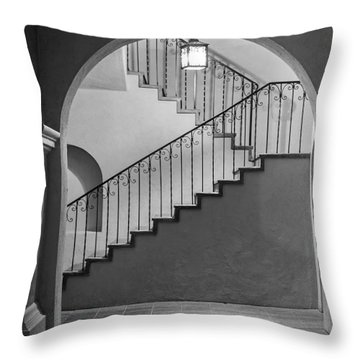 Balboa Park Stairs Throw Pillow