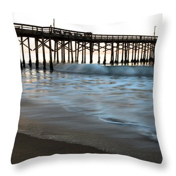 Balboa Pier  Throw Pillow