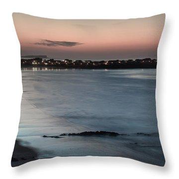 Baleal Throw Pillow by Edgar Laureano