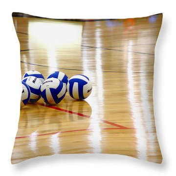 Ball Gang Throw Pillow
