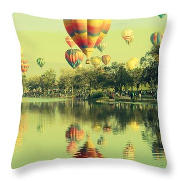 Balloon Classic Throw Pillow