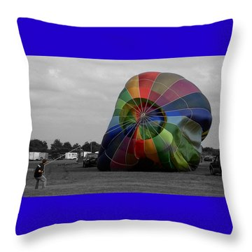 Balloon Fun Throw Pillow