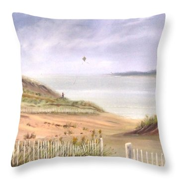 Balmy  Memories Throw Pillow