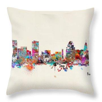 Maryland Throw Pillows
