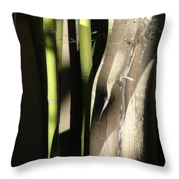 Bam  Boo  Throw Pillow