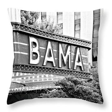 Bama Throw Pillow by Scott Pellegrin