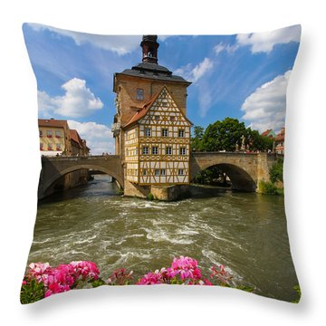 Bamberg Bridge Throw Pillow