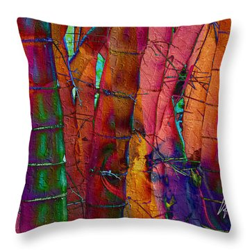 Bamboo Delight Throw Pillow