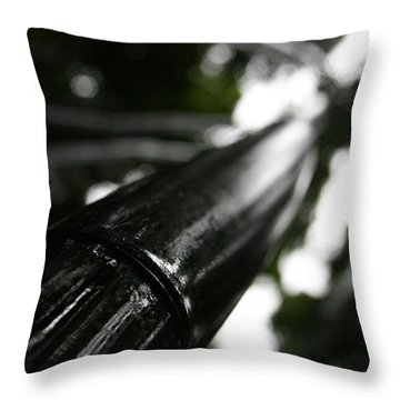 Bamboo Skies 7 Throw Pillow