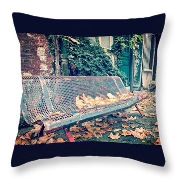 Banc Public Throw Pillow