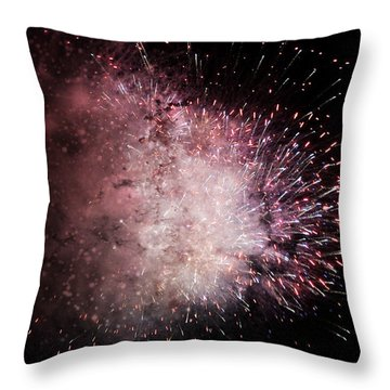 Earth's Demise Throw Pillow by Cynthia Lassiter