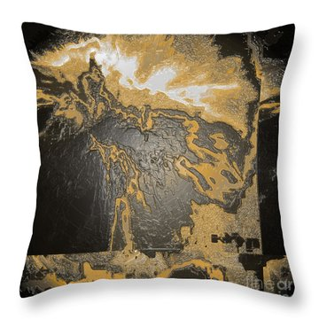 Bang Throw Pillow