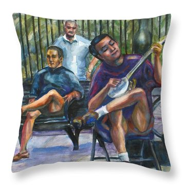 Banjo Throw Pillow