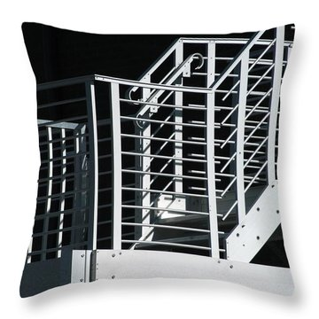 Bank Escape Throw Pillow by Joseph Yarbrough