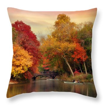 Bank Rock Bay Throw Pillow