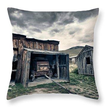 Bannack Carriage House Throw Pillow