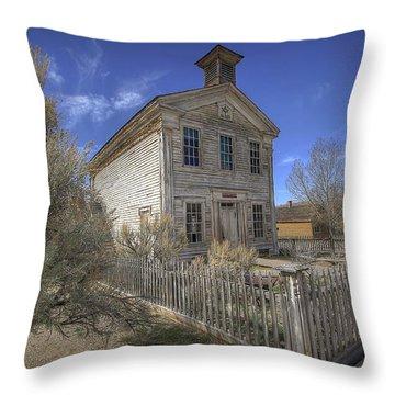 Bannack Lodge # 16 Throw Pillow